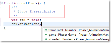 Var type declaration (context)