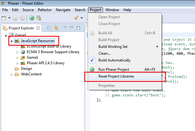 Rest project libs