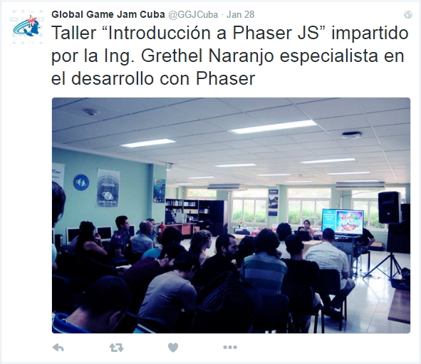 Grethel talking about Phaser