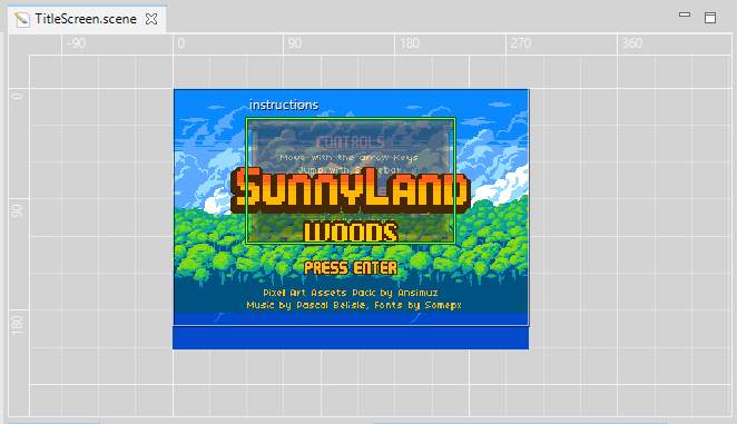 Commenting the Sunny Land Woods demo (Tutorial) - Phaser