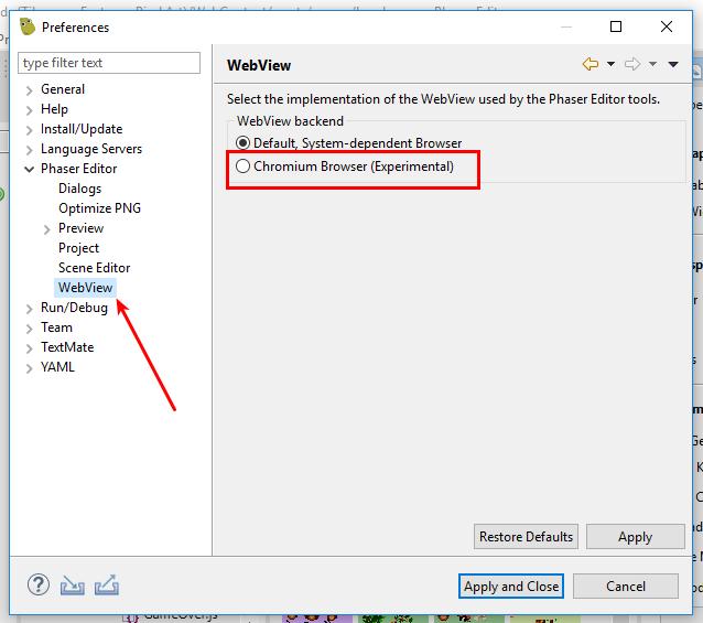 Phaser Editor 2 1 0 released - Phaser Editor Blog